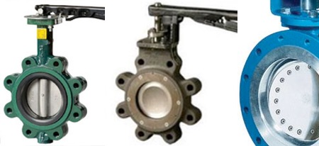 Center Line & Flowseal Butterfly Valves